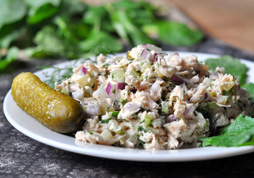 Canned Tuna Salad Recipe