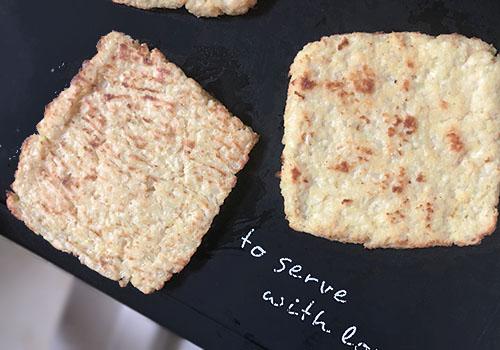 Рецепт тостов с хлебом из цветной капусты