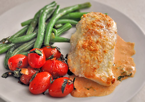 Chicken with Creamy Tomato Sauce