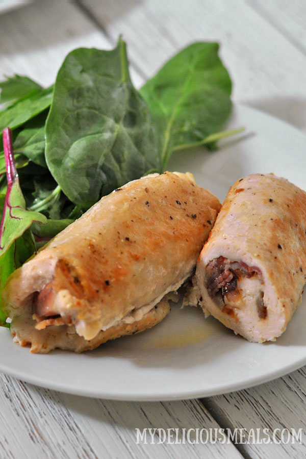 Easy Chicken Breast Roll Ups
