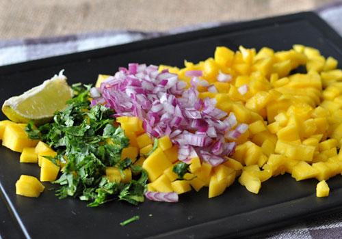 Рецепт Сальсы из Манго