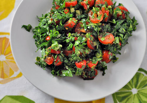 Easy Parsley Salad (Tabbouleh) Recipe