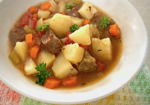 Easy Stovetop Beef Stew