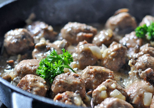 Paleo Ground Beef Meatball Recipe