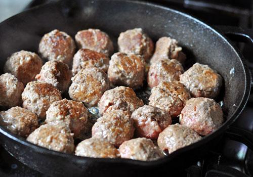Рецепт фрикадельки из говяжьего фарша Палео
