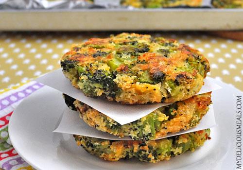 Baked Broccoli Patties Mydeliciousmeals Com