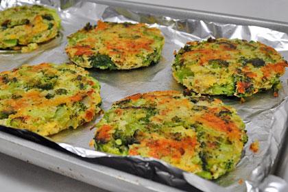 Baked Broccoli Patties photo instruction 7