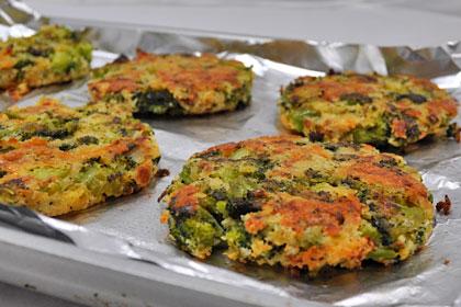 Baked Broccoli Patties photo instruction 8