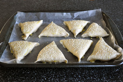 Baked Chicken Samosa (Pierogies) photo instruction 15