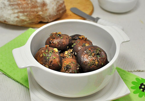 Baked Cremini (Baby Bella) Mushrooms