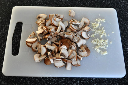 Baked Parmesan Garlic Chicken with Mushrooms photo instruction 3