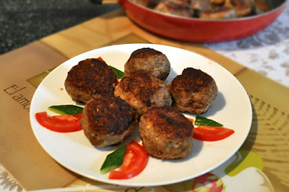 Beef and Pork Patties