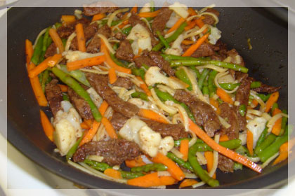 Beef and Vegetable Stir-fry photo instruction 4