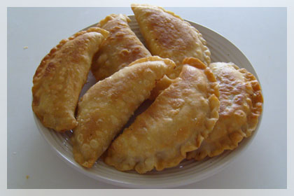 Beef Chebureki (Deep Fried Beef Dumplings) photo instruction 7