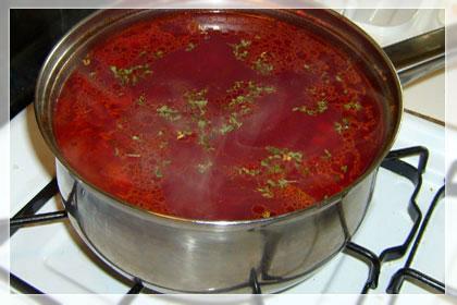 Борщ (Свекольный Суп) пошаговое фото 4