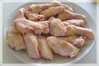 Breaded Chicken Wings photo instruction 1