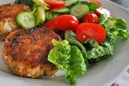 Canned Salmon Patties
