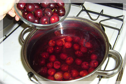 Cherry Kompot (Cherry Drink) photo instruction 2