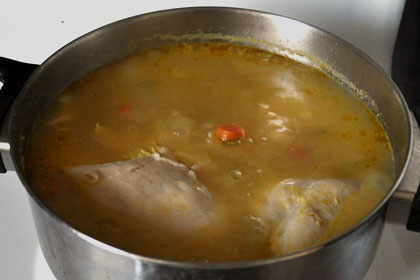 Chicken Barley Soup with Kale photo instruction 5