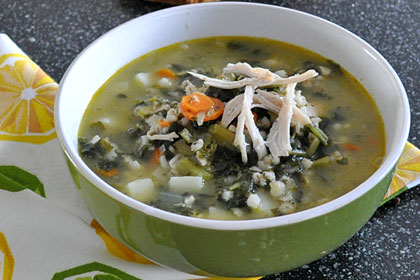 Chicken Barley Soup with Kale photo instruction 7