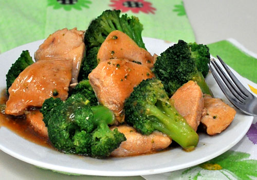 Chicken Breast and Broccoli Stir-Fry
