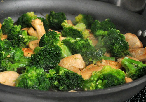 Chicken Breast and Broccoli Stir-Fry photo instruction 3