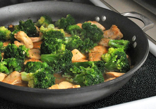Chicken Breast and Broccoli Stir-Fry photo instruction 4