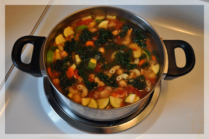 chicken minestrone photo instruction 4