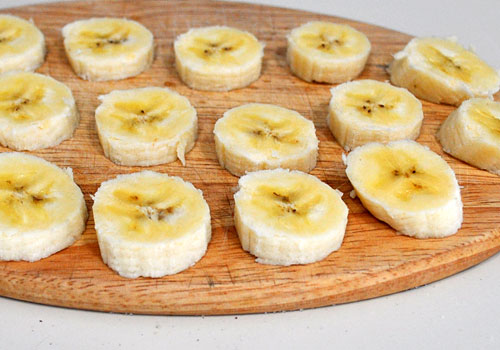 Картинки по запросу бананы кусочками