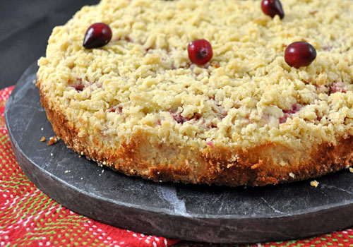 Cranberry and Cream Cheese Crumble Pie photo instruction 9
