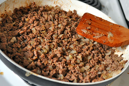 Crepes with Ground Beef Filling photo instruction 4