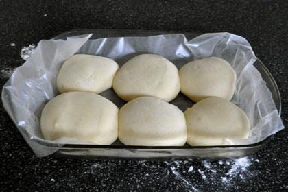 Фото инструкция Easy Hamburger Buns 3