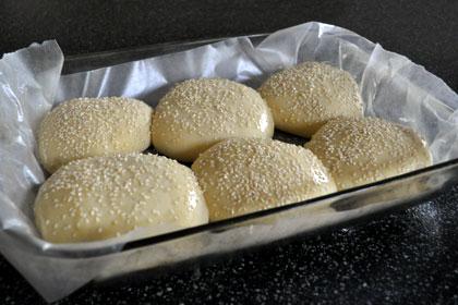 Легкие булочки для гамбургеров фото инструкция 4