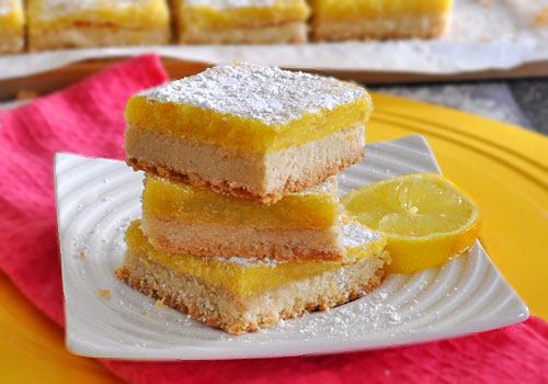 Easy Lemon Orange Squares