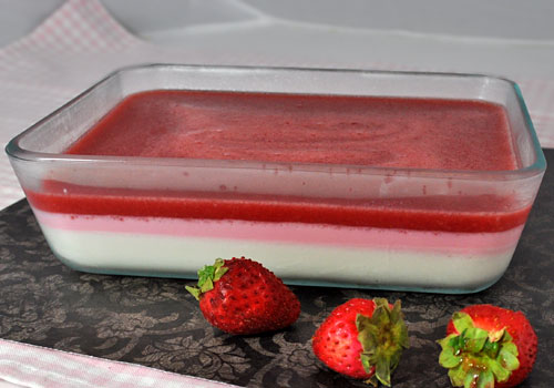 Easy Strawberry Gelatin Dessert photo instruction 6