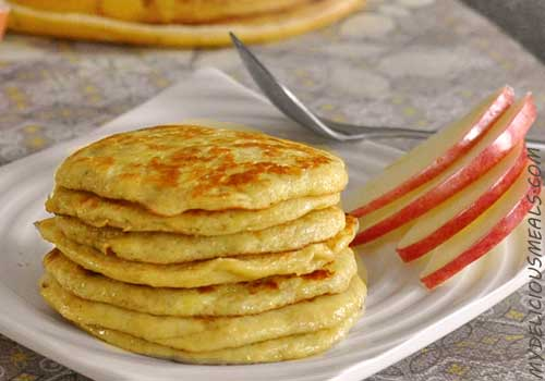 Gluten-Free Banana and Egg Pancakes