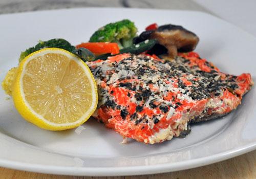 Рецепт полезного филе лосося