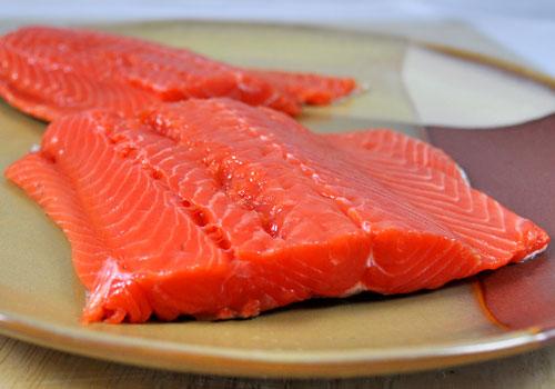 Полезное филе лосося Рецепт фото инструкция 1