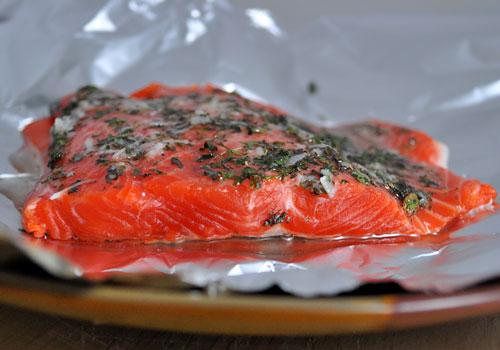 Полезное филе лосося Рецепт фото-инструкция 3