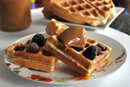 Homemade Waffles Mydeliciousmeals Com