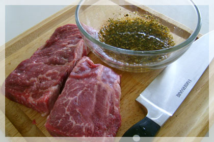 Juicy Tender Rib Eye Steak photo instruction 1