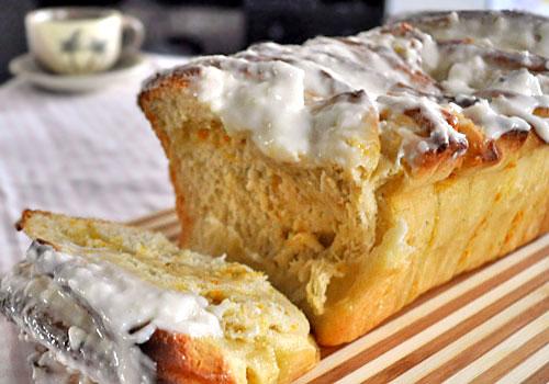 Сладкий Лимонный Хлеб-Пирог