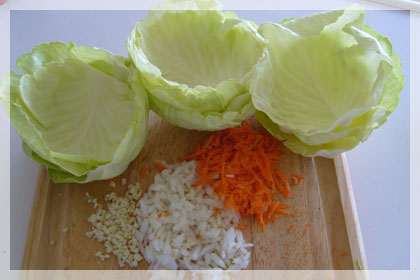 Meat Filled Cabbage Rolls photo instruction 1