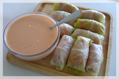 Meat Filled Cabbage Rolls photo instruction 6