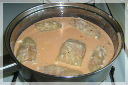 Meat Filled Cabbage Rolls photo instruction 7