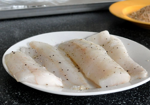Parmesan and Paprika Baked Cod photo instruction 1
