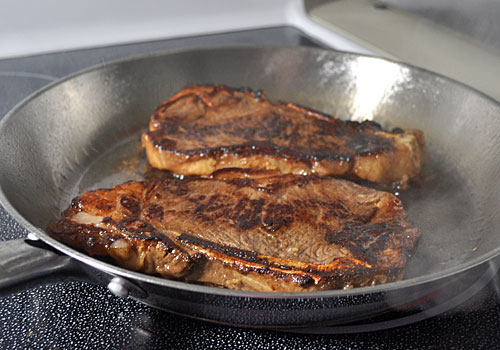 Perfect Pan-Fried New York Strip Steak photo instruction 3