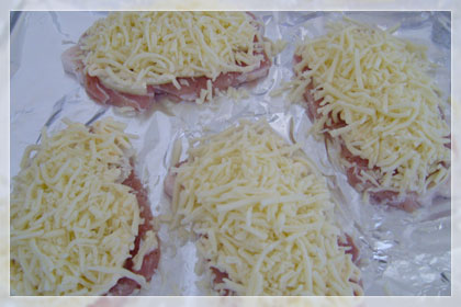 Pork Chops Topped with Onions, Mayo and Cheese photo instruction 4
