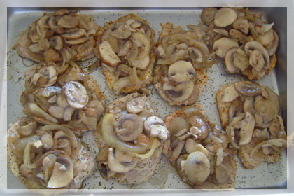 Pork Chops with Sour Cream and Mushrooms photo instruction 4
