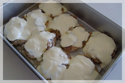 Pork Chops with Sour Cream and Mushrooms photo instruction 5